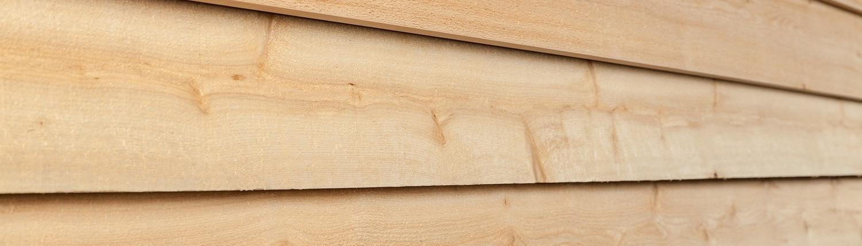 Cedar Siding sheds