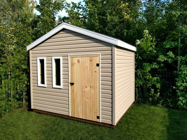 Summit Sheds, Ottawa - 10x8 gable shed with Offset Door