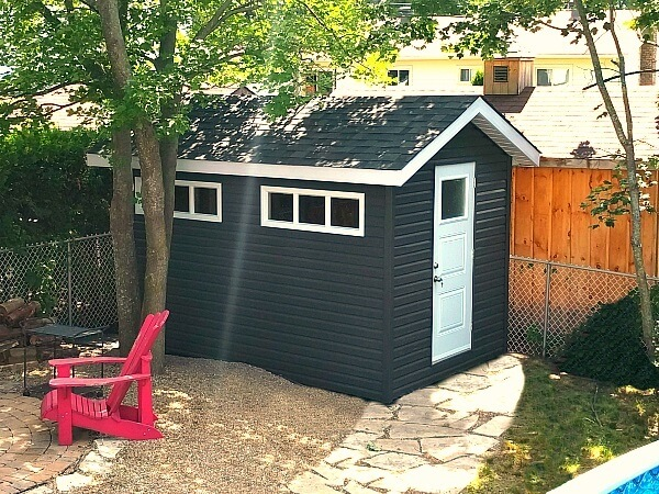 8x12-Gable Shed, Summit Sheds, Ottawa, premium siding and windows