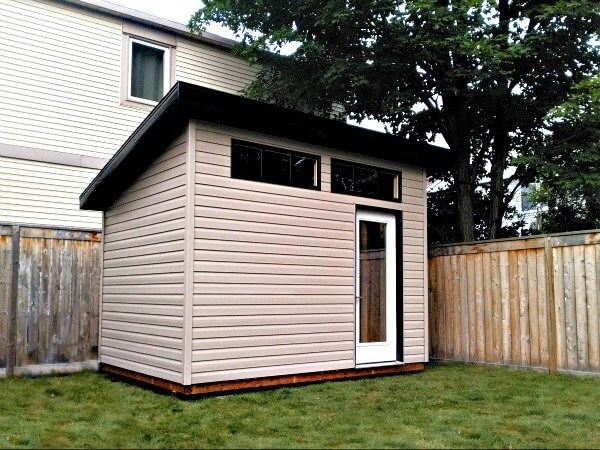 The modern shed gallery custom built sheds in ottawa for Modern shed prices