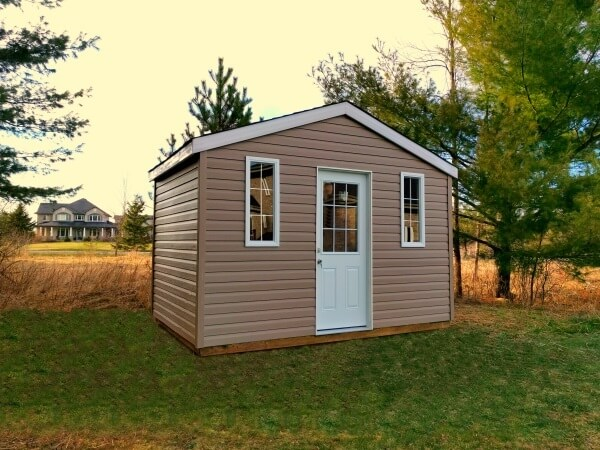 12x8 Gable Shed, Summit Sheds, Ottawa Ontario