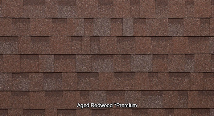 Aged Redwood Shed Shingles