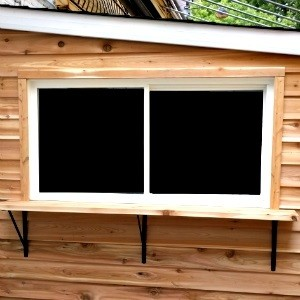 Shed Bar Window