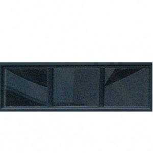 Black Transom Shed Window