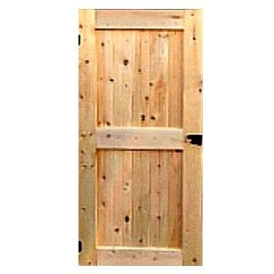 Wood Door Shed