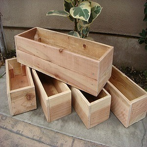 Shed Flower Boxes