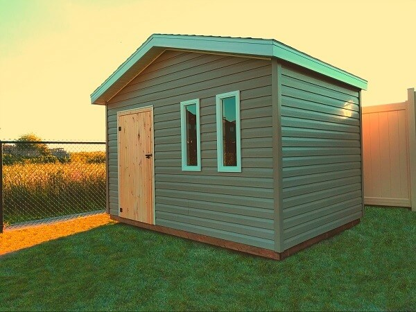 12x8 Gable-Shed with offset door-Ottawa, Summit Sheds