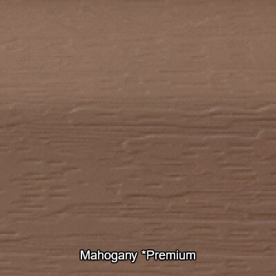 Mahogany Vinyl Siding Colour