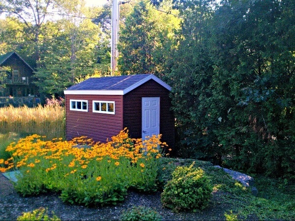 8x12 Gable Shed, premium siding and windows, Summit Sheds, Ottawa