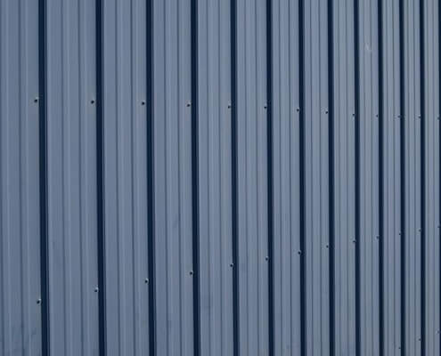 Ribbed Metal Shed Siding