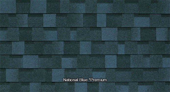 National Blue Shed Shingles