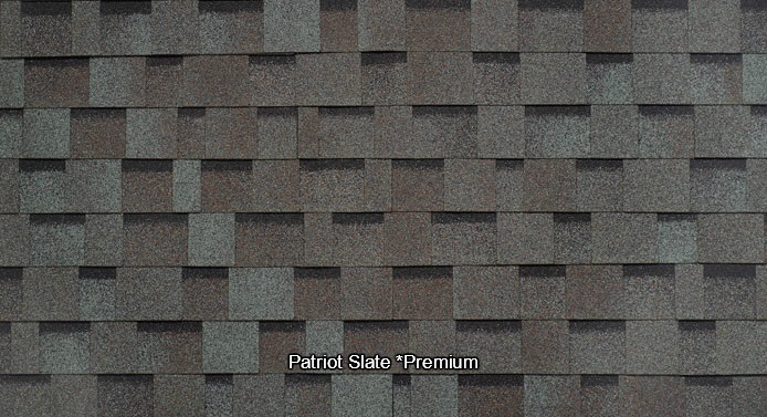 Patriot Slate Shed Shingles