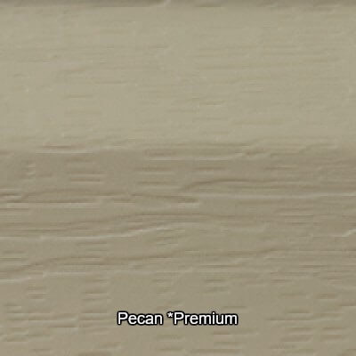 Pecan Vinyl Siding Colour