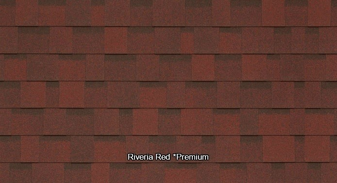 Riveria Red Shed Shingles