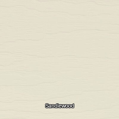 Sandlewood Vinyl Siding Colour