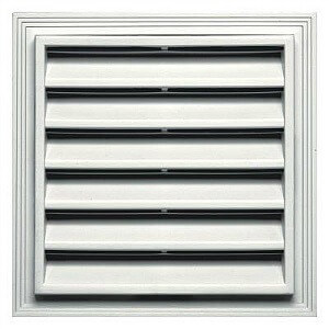 Shed Gable Vent, 8x12 Sheds