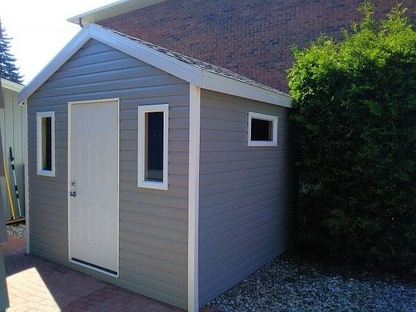 Summit Sheds, 10x10 gable shed - Ottawa