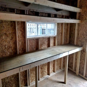 Shed Shelving