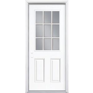 1/2 Light Steel Shed Door