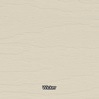 Wicker Vinyl Siding Colour