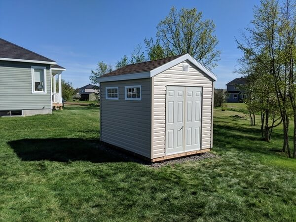 Summit Sheds, Ottawa - 8x12 Gable Shed, double doors