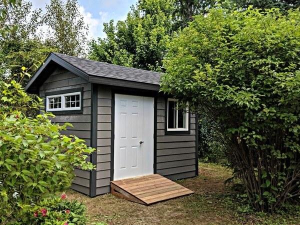 hardie board shed
