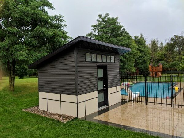 contemporary shed