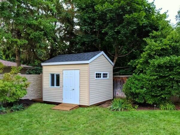9x12 shed, door and a half, ramp, large operating window - Summit Sheds, Ottawa