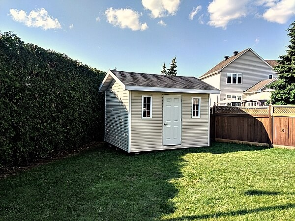 9x12 with steel door - Summit Sheds, Ottawa Ontario