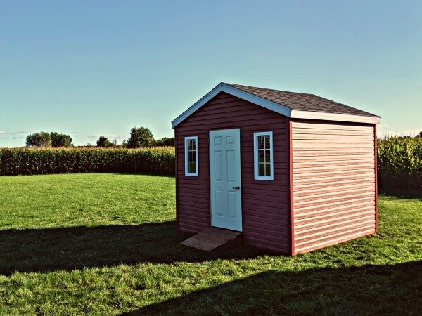 10x10-Gable-Shed with premium siding, Summit Sheds, Ottawa