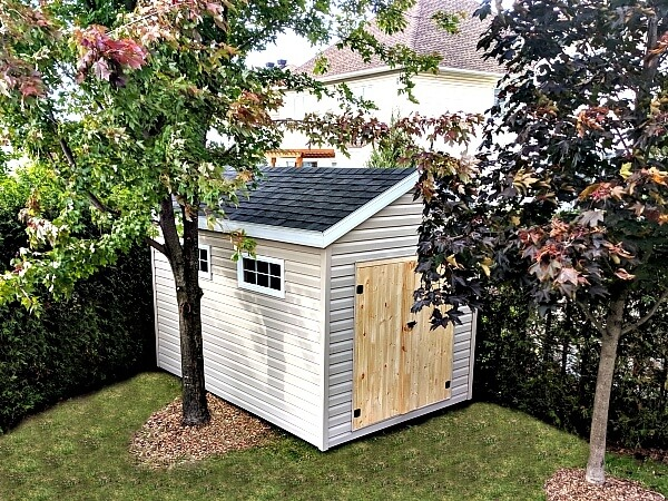 8x12 Gable Shed with barn doors, Summit Sheds, Ottawa