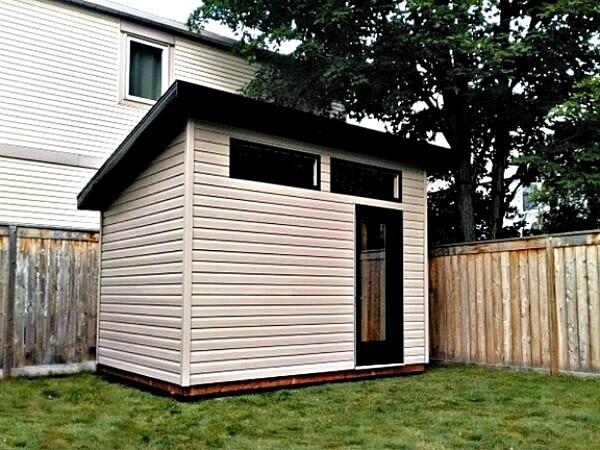 modern shed, Summit Sheds, Ottawa