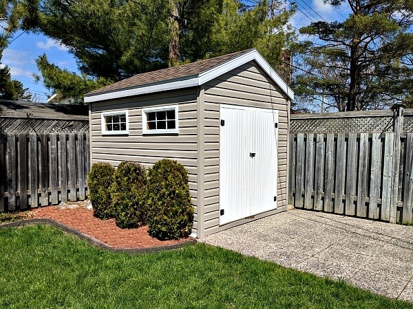 Gable with double doors, Summit Sheds