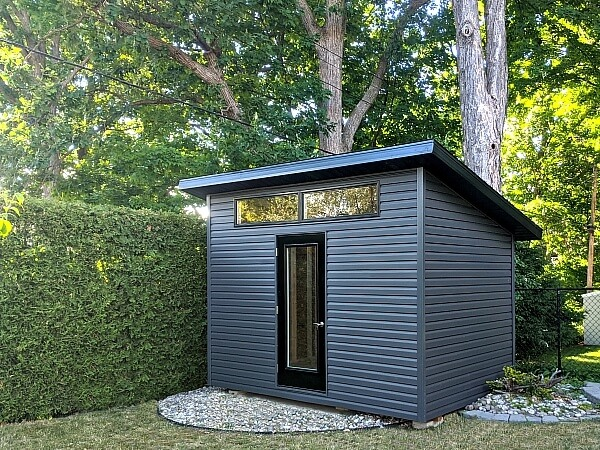 modern contemporary shed